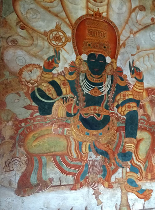 Mattancherry Palace; museum; Kochi; Seated Vishnu; Kerala; uasatish;