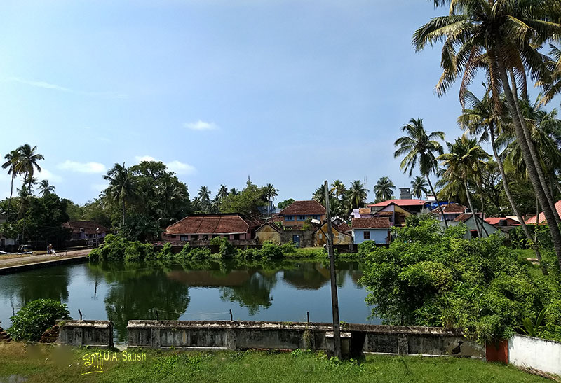 Mattancherry Palace; museum; Kochi; temple pond; Kerala; uasatish;