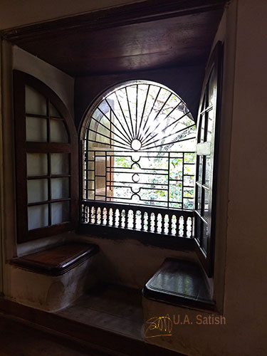 Mattancherry Palace; museum; Kochi; window with seating; Kerala; uasatish;