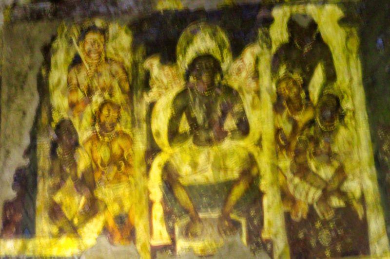 Ajanta Caves; Aurangabad; India; Bodhisattva; uasatish;