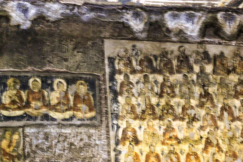 Ajanta Caves; Aurangabad; Ajanta Cave 2; cave paintings; uasatish;