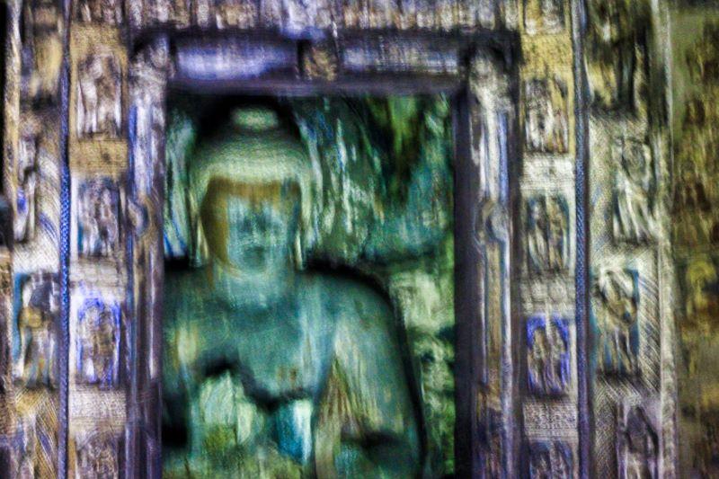 Ajanta Caves; Cave no 2; Aurangabad; Buddha; cave sculpture; uasatish;