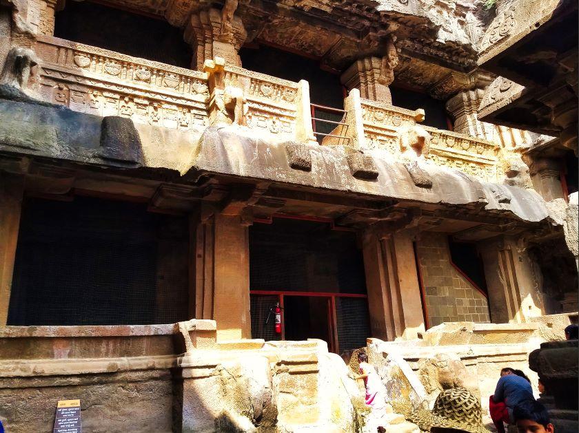 Ellora Cave 32; Ellora Caves; Maharashtra; uasatish; Jain Caves;