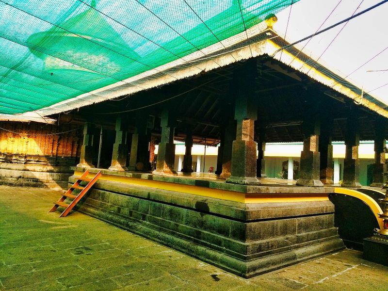 Mandapam; prayer hall; Sreekanteswara Temple; Kozhikode; Kerala; temple; Calicut; uasatish;