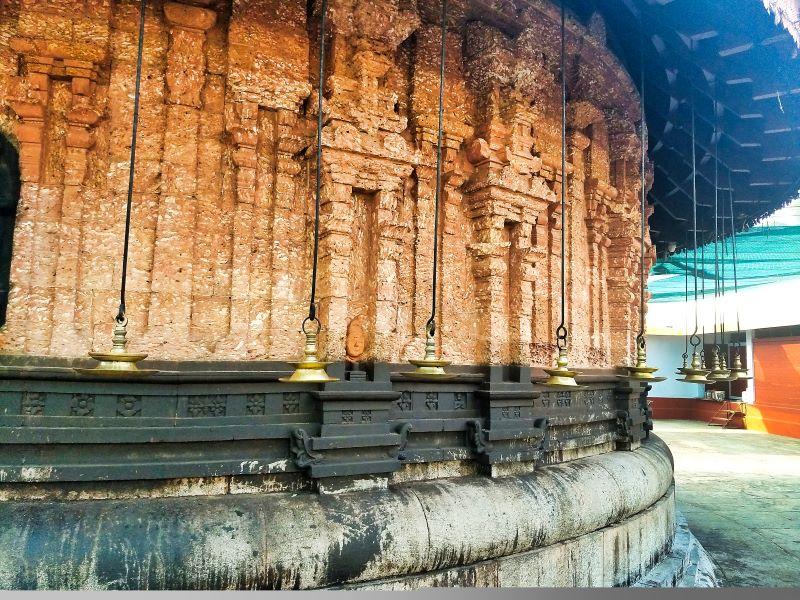 Sreekanteswara Temple; Sreekovil; outer wall; Kozhikode; Kerala; uasatish;