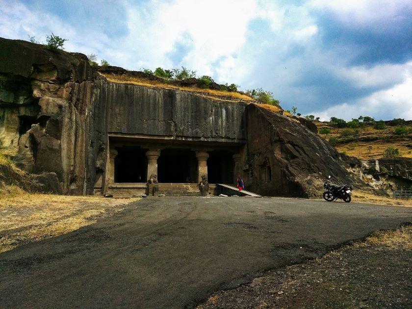 Ellora Cave 29; Ellora Caves; Maharashtra; rock cut caves; uasatish Hindu Cave;