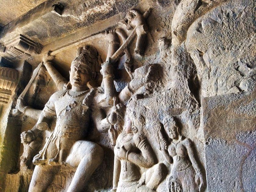 Ellora Caves; Maharashtra; Ellora Cave 29; Hindu Cave; uasatish;