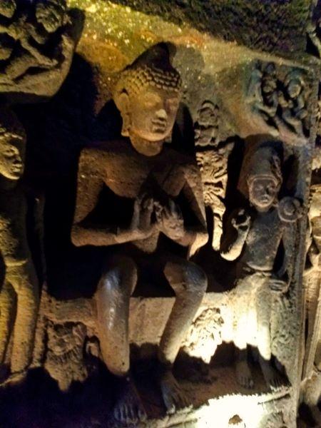 Ajanta Cave 24; Ajanta Caves; Mahaashtra; uasatish;
