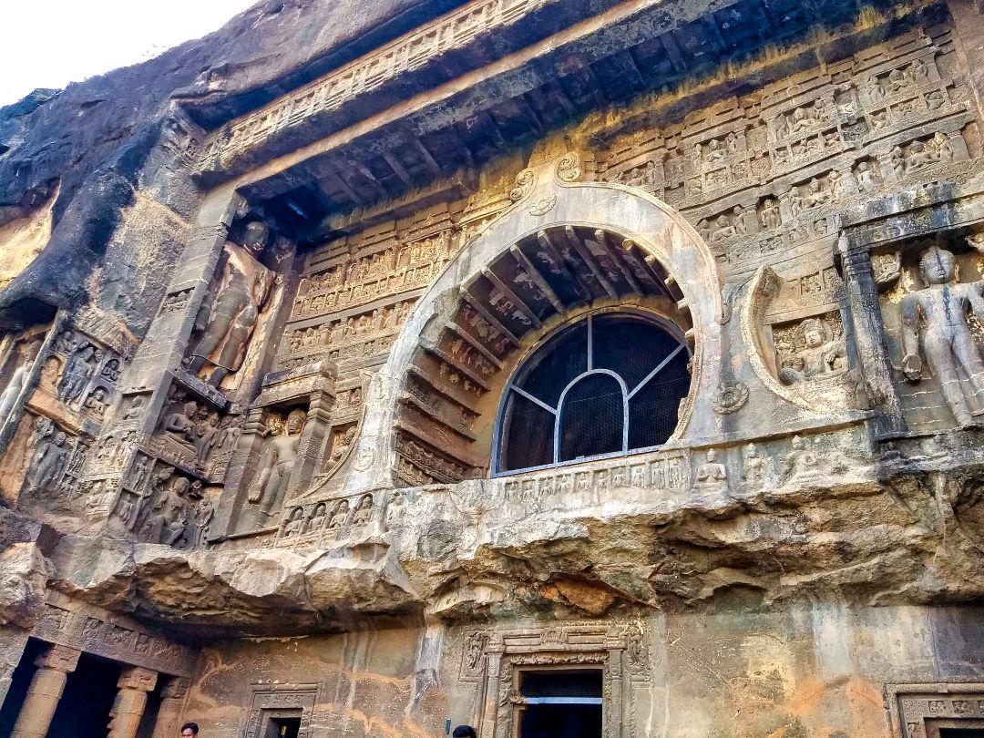 Ellora Cave 26; Ellora Caves; Maharashtra; Buddhist Monastery; uasatish;
