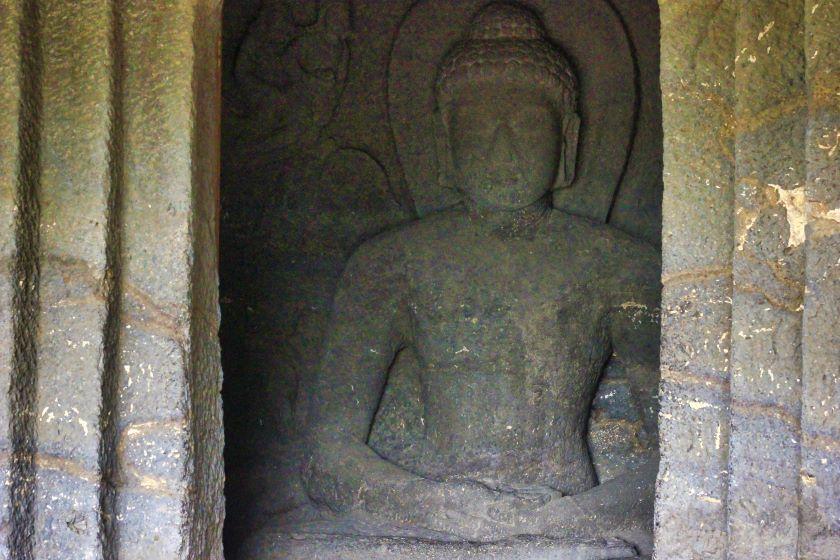 Ellora Caves; Ellora Cave 12; Maharashtra; rock sculpture; usatish;