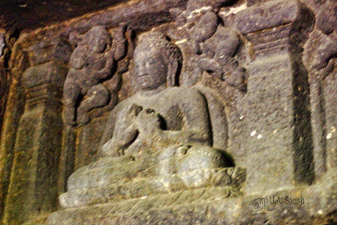 Gajalakshmi; Arangabad Caves; Aurangabad; uasatish; Maharashtra;
