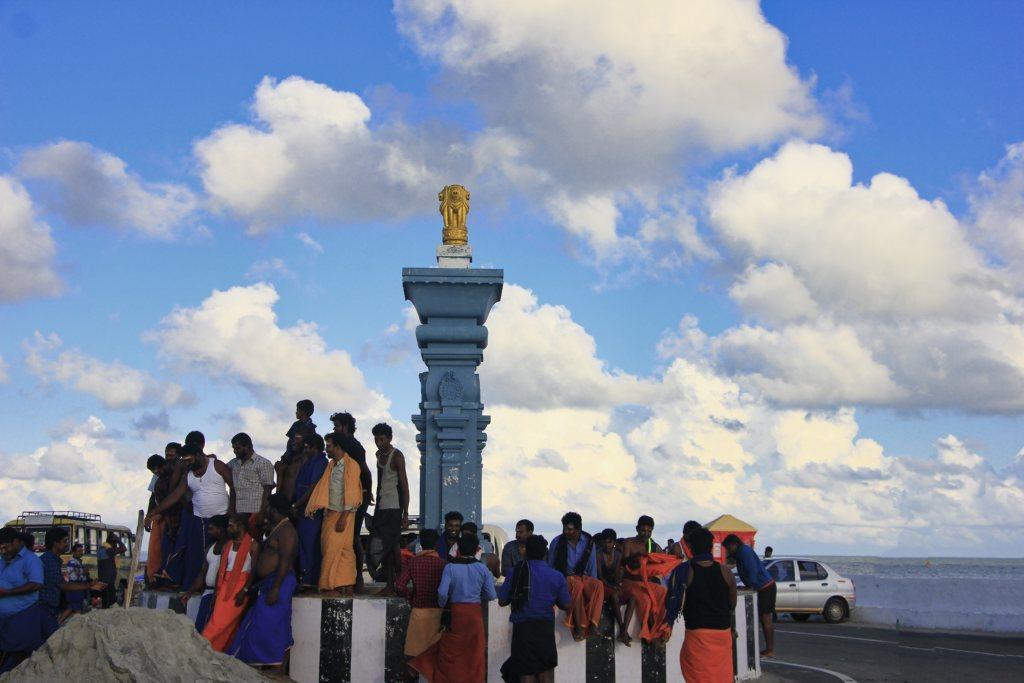 beach point; Dhanushkodi; Rameswaram; uasatish;