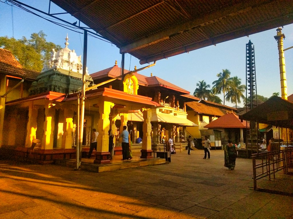 Sri Mookambika Temple; Kollur; temple buildings; uasatish;