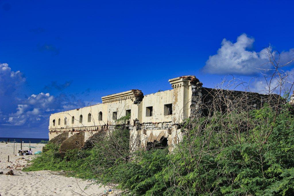 hospital building; ruins; uasatish; Rameswaram;