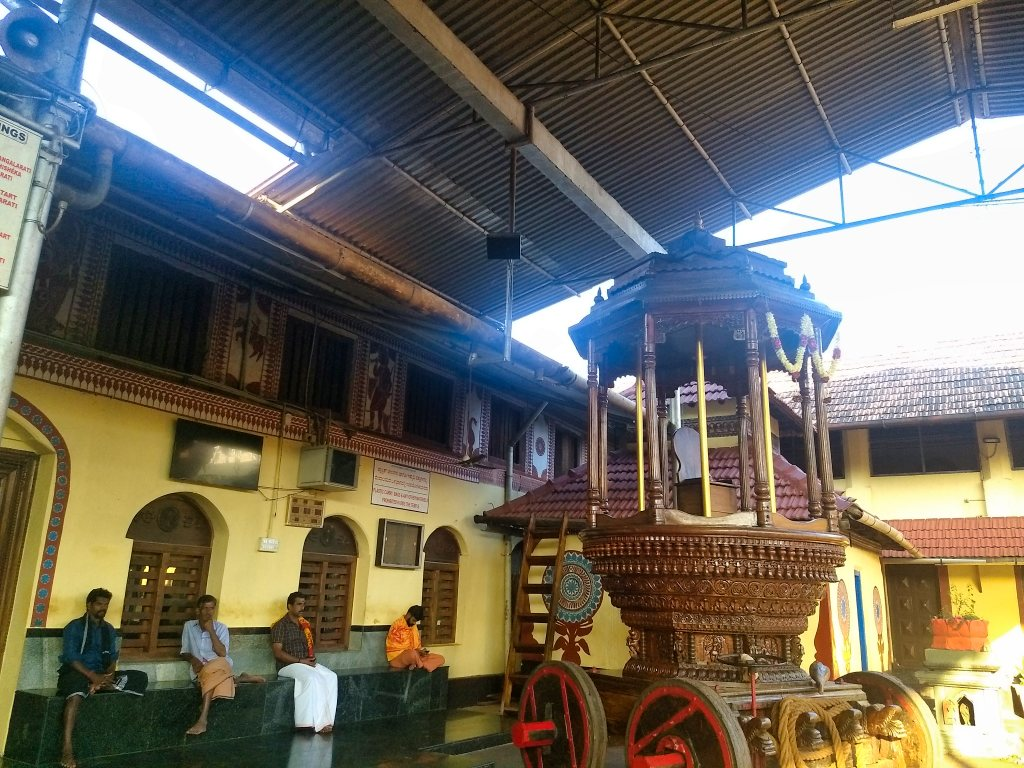 temple chariot; ratham; Kollur; uasatish; Mookambika Temple;