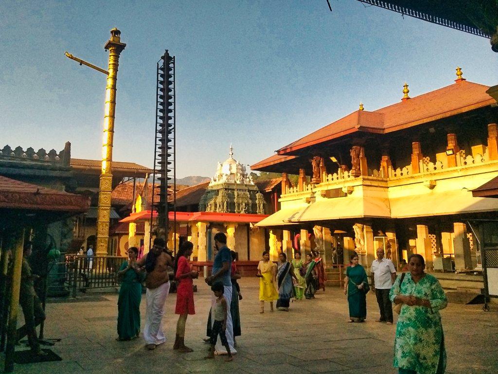 Temple Building; Mookambika Temple; temple architecture; uasatish;