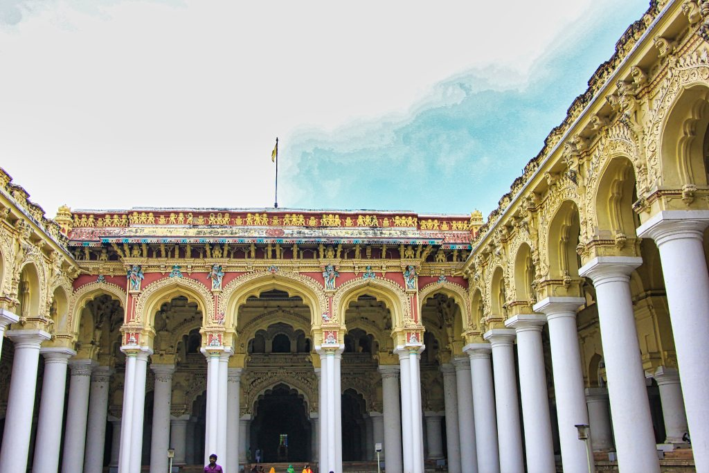 Thrumalai Nayakkar Palace; Madurai; Tamil Nadu; India; architecture; uasatish;
