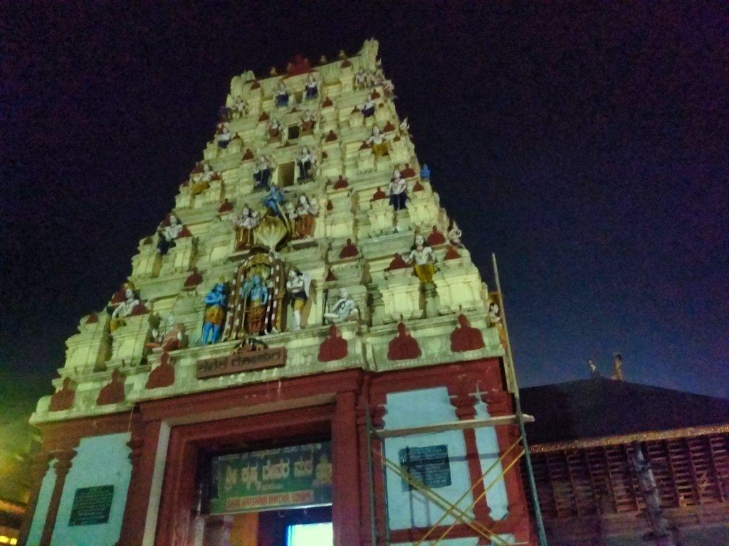 Gopuram; Udupi; Karnataka; uasatish;