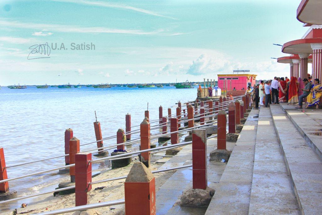 Rameswaram; uasatish; sea;