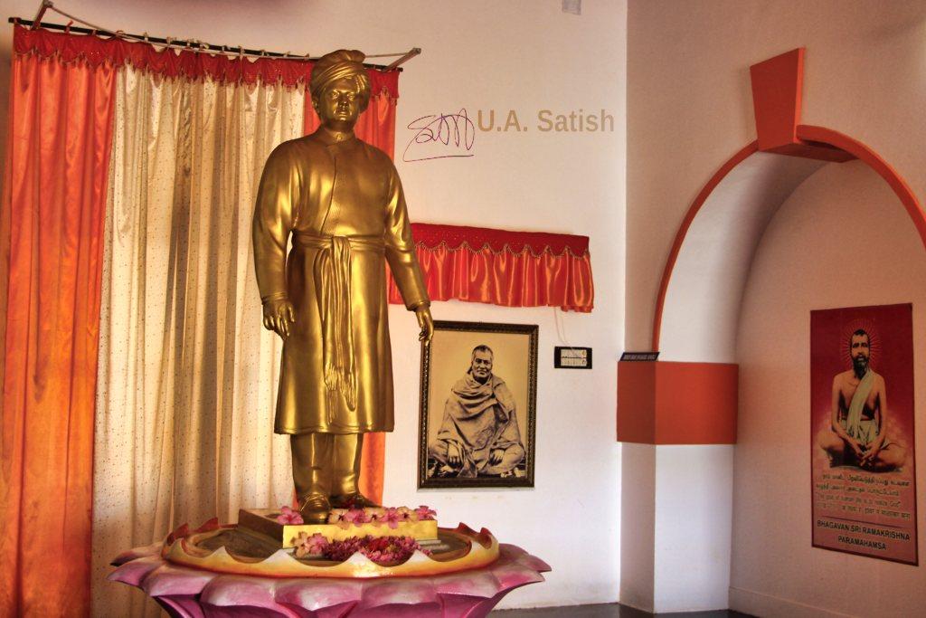 Vivekananda Memorial; sculpture; Rameswaram; Tamil Nadu; uasatish;