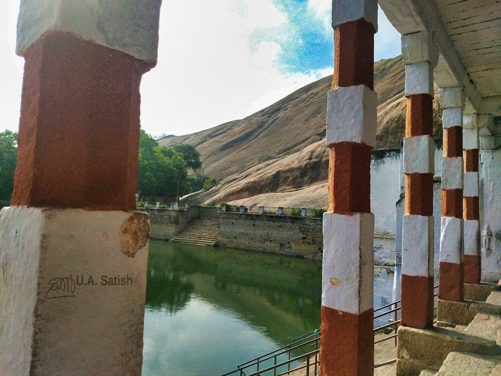 temple pond; Madurai; uasatish;