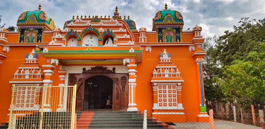 Vivekananda Memorial; Rameswaram; building; uasatish;