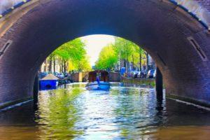 Canal, Amsterdam; uasatish; Netherlands;