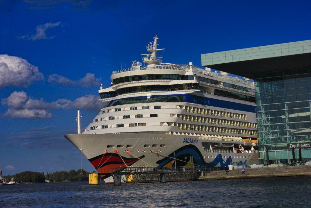 Amsterdam Cruise Port; Amsterdam; Netherlands; uasatish;