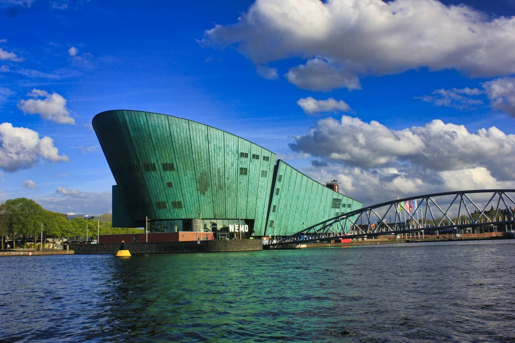 NEMO Science Centre; Amsterdam waterfront; Netherlands; uasatish;
